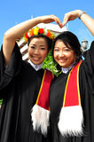 Portrait Thai Girl. In commencement day,  Thailand Royalty Free Stock Images