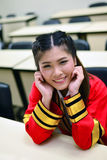 Portrait Thai Girl. In commencement day,  Thailand Stock Images