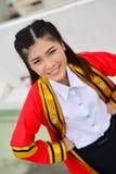Portrait Thai Girl Royalty Free Stock Images