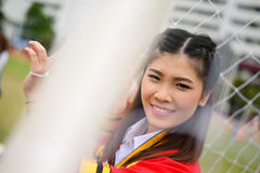 Portrait Thai Girl. In commencement day,  Thailand Royalty Free Stock Photos
