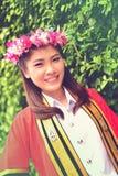Portrait Thai Girl Stock Image