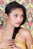 Portrait of Thai lady Royalty Free Stock Photos