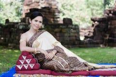 Portrait of Thai women Royalty Free Stock Photography