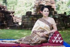 Portrait of Thai women Stock Image
