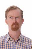 Portrait of thinking man Stock Photography