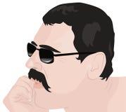 Portrait of thinking man Royalty Free Stock Photos