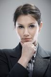 Portrait of thinking young businesswoman Royalty Free Stock Photography