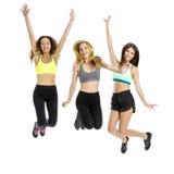Athletic girls Stock Image