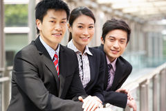 Portrait Of Three Business Colleagues Royalty Free Stock Images