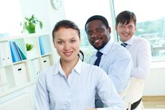 Female leader Royalty Free Stock Photography