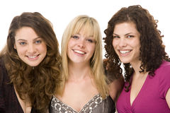 Portrait Of Three Women Smiling Royalty Free Stock Photography