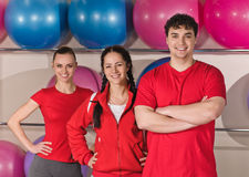 Fitness group Royalty Free Stock Photo