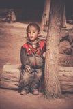 Portrait of a Tibetan boy Royalty Free Stock Photo