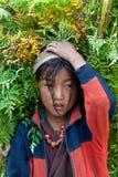 Portrait of Tibetan girl Royalty Free Stock Photography