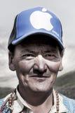 Portrait of a tibetan old man Royalty Free Stock Image