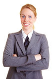 Portrait with tie Royalty Free Stock Photography