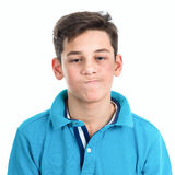 Portrait of a tired teenager Royalty Free Stock Photo