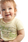 Portrait of a toddler royalty free stock photo