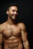 Portrait of topless macho man Royalty Free Stock Photos