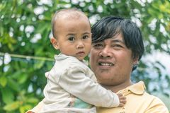 Portrait of Toraja People Royalty Free Stock Photo
