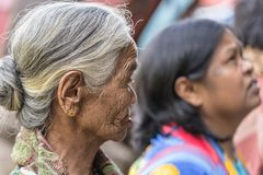 Portrait of Toraja People, Sulawesi, Indonesia Royalty Free Stock Photo