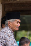 Portrait of Toraja People in traditional attire Stock Images