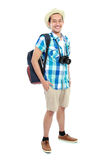 Portrait of a tourist Royalty Free Stock Photography