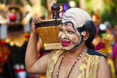 Portrait of traditionalBalinese comedian Bondres Stock Photography