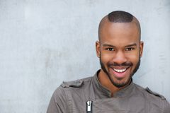 Portrait of a trendy young african american man Royalty Free Stock Photography
