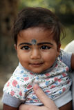 Portrait of tribal children in a village Baidyapur, India Royalty Free Stock Photo