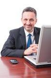 Portrait of trustworthy businessman or lawyer Royalty Free Stock Photo