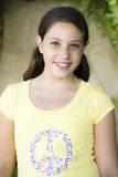 Portrait Of Tween Girl Stock Image