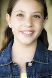 Portrait Of Tween Girl Stock Images