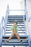 Portrait of Tween Girl Royalty Free Stock Photo