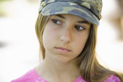 Portrait of Tween Girl Royalty Free Stock Images