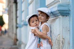 Portrait of two boys Stock Image