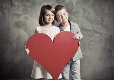 Portrait of two cute children Royalty Free Stock Photo
