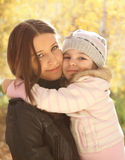 Portrait of two sisters Royalty Free Stock Images