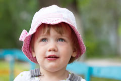 Portrait of  two-year child Stock Images
