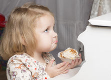 Portrait of two year old child. Stock Images