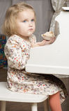 Portrait of two year old child. Royalty Free Stock Images