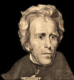 Portrait of  U.S. president Andrew Jackson Royalty Free Stock Photos