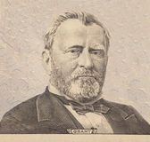 Portrait of  U.S. president Ulysses S. Grant Stock Image