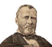 Portrait of  U.S. president Ulysses S. Grant Stock Images