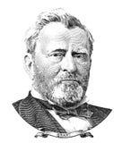 Portrait of U.S. president Ulysses S. Grant Stock Photo