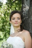 Portrait of Ukrainian fiancee Stock Images