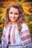 Portrait of the Ukrainian girl Stock Photo