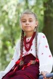 Portrait of Ukrainian little girl Stock Image