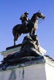 Portrait Ulysses-S Grant Statue Lizenzfreie Stockfotos