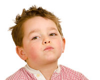 Unhappy child Stock Photography